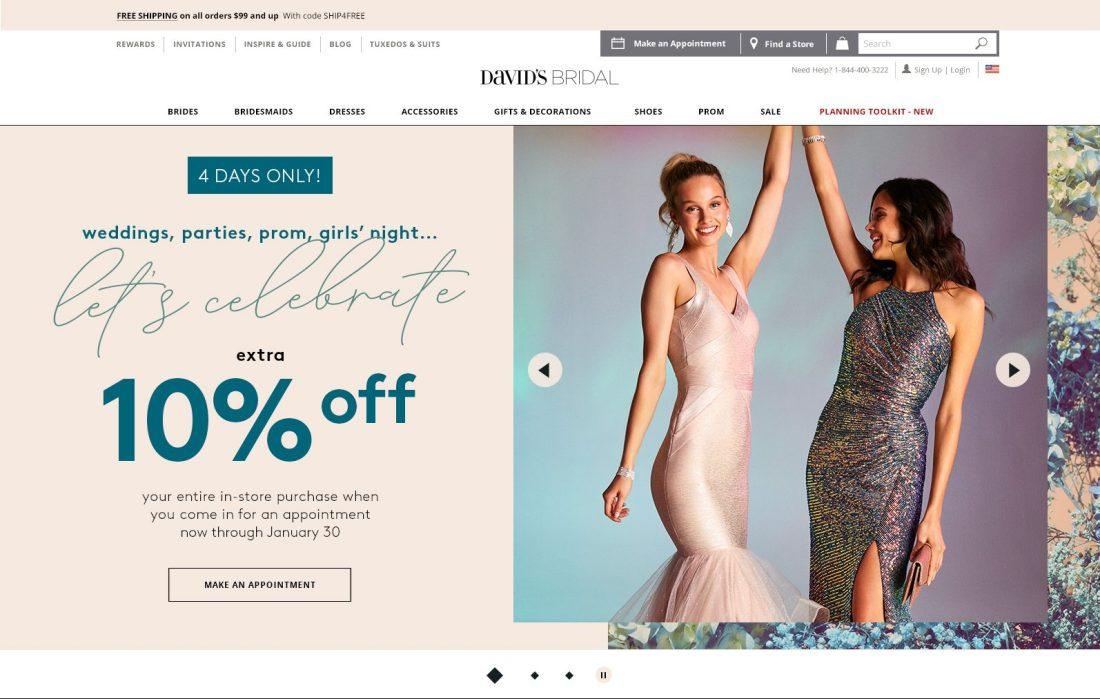 Sale Homepage Desktop