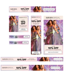 Prom Digital Ad Banners